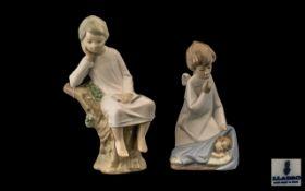 Lladro - Hand Painted Porcelain Figures