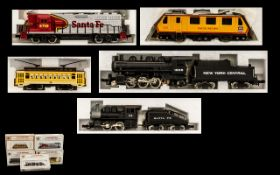 Bachman Quality N Scale Locomotives Models 5 Boxed Models in total, All in never out of box.