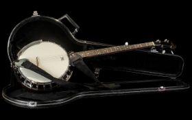 Banjo in Hard Case by Countryman.