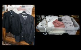 Quantity of Top Quality & Designer Ladies Fashion Items comprising: Valentino white high waist