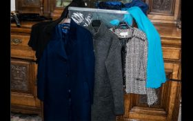Quantity of Top Quality & Designer Ladies Fashion Items comprising: Hobbs tweed Chanel style jacket,