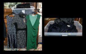 Quantity of Top Quality & Designer Ladies Fashion Items comprising: Michael Kors black and white