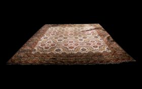 Large Indian Carpet in the Style of Mahal,