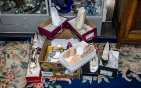 Collection of Designer Footwear, in original boxes and mostly unworn,