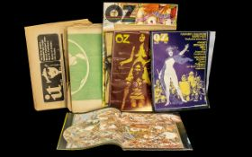 Collection of Oz Magazines & IT Newspapers, some unusual and collectible items. Please see images.
