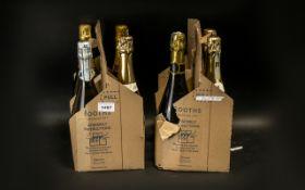 Collection of Sparkling Wine (7 Bottles) comprising Scalini Prosecco; M & S Prosecco; Rhona Blanc;