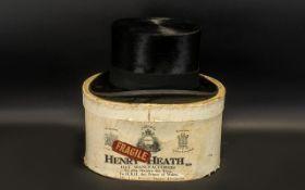 Top Hat: Scott & Co (Hatters) 1 Old Bond St London;