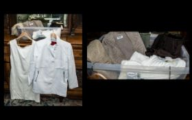 Quantity of Top Quality & Designer Ladies Fashion Items comprising: Mango white wool 3/4 coat with