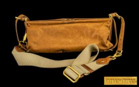 Miu Miu Ladies Shoulder Bag, Lovely Brown Soft Leather. 12 Inches In length. Signs of Wear But