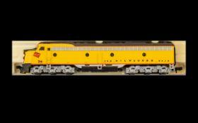 Life Like Superb Quality N Gauge Scale Die Cast Motor Locomotive The Milwaukee Road Locomotive no