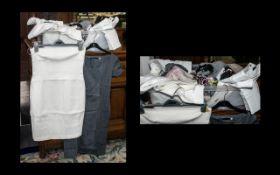 Quantity of Top Quality & Designer Ladies Fashion Items comprising: Valentino cream strapless
