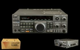 Kenwood R- 5000 Full Coverage Ham and Short Wave Communications Receiver, HF Receiver, serial no.