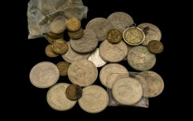 A Collection Of Coins, To Include, 2002 Five Pound Coins,