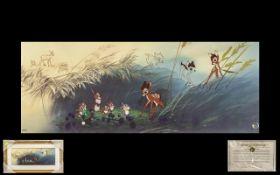 Walt Disney Classics Large and Pleasing Ltd Edn No.