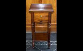 Square Topped Tall Drawer Unit, raised o