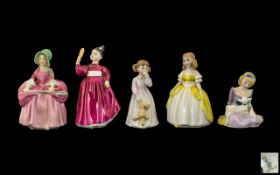 Royal Doulton Handpainted Collection of