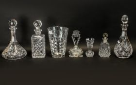 Collection Of modern Glass To Include Th
