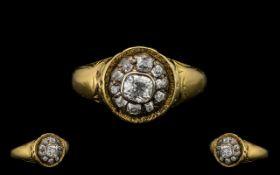 Antique Period 19th Century Diamond Set