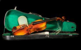 Stentor Violin in hard shell Carrying Ca