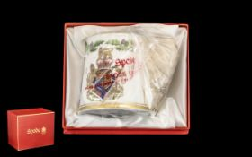 Queen's Silver Jubilee China Tankard 195
