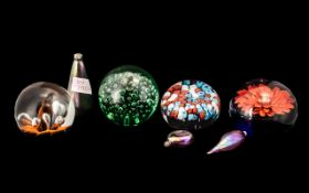 Collection of Paperweights to include a