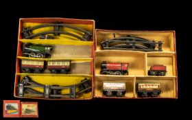 Two Boxed Hornby Railway Sets. Hornby S