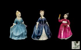 Three Royal Doulton Figures, comprising