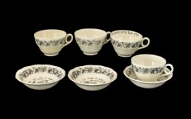 Crown Ducal Passover Ware Black Litho Fo