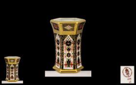 Royal Crown Derby Handpainted Old Imari