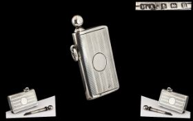 Early 20th Century Cigarette Lighter with Pull Out Striker,