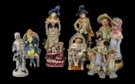 Box of Assorted Victorian & Associated Figures eight (8) in total, please see images.