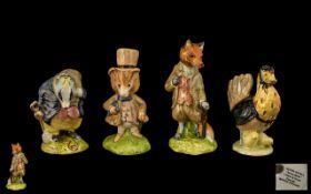Beswick Beatrix Potter Figures ( 4 ) In Total. Comprises 1/ ' Mr Tod ' BP-4, Modeller Ted Chawner.