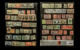 Stamp Interest - Collection of Southern Rhodesia Stamps circa 1930s, 1940s and 1950s, all in