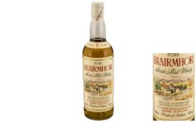 Blairmhor Bottle of Scotch Malt Whisky.