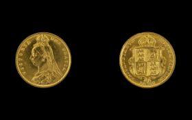Queen Victoria 22ct Gold Jubilee Head/Sh