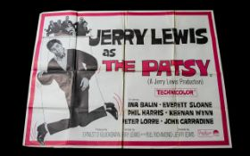 Cinema Poster for 'The Patsy' Jerry Lewi