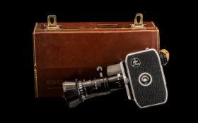 Vintage Bolex Zoom Reflex Paillard Camer