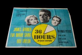 Film Poster for Classic '36 Hours' starr
