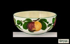 Wemyss Large Circular Footed Fruit Bowl