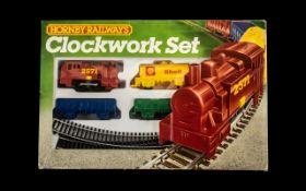 Hornby Railways Boxed Clockwork Set comp