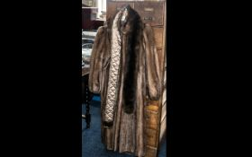 Ladies Quality Mink Coat full length, made by Stephen of Blackpool.