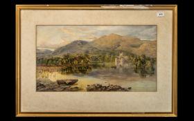 Joseph Charles Reed (1822-1877) Watercolour.