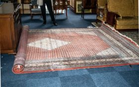 An Indian Carpet Made in the Persian Style,