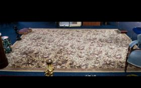 A Large Modern Axminster Rennaisance Rug. Measuring 12 by 9 feet. Please see photograph