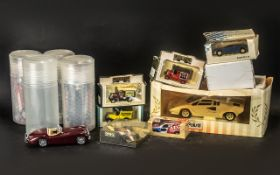 Collection of Burago Cars, comprising Ja