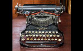 Vintage Corona Special Typewriter by L C