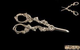 Elizabeth II Fine Pair of Silver HInged