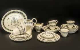 Grindley Royal Cauldon 'Passover' Tea Se