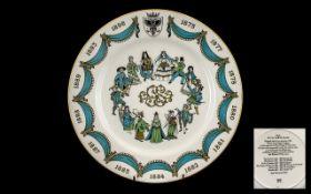 The D'Oyly Carte Plate 1975 Centenary Ye