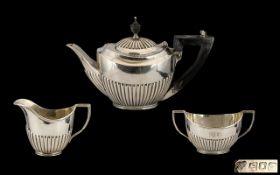 Edwardian Period Silver Three-Piece Bach